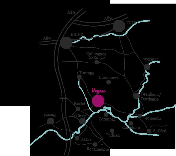 Au coeur de la vallée de la Dordogne