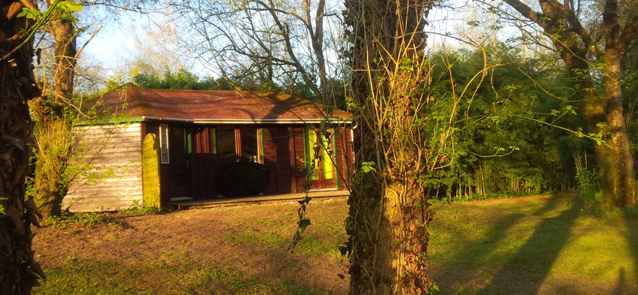 En Dordogne, votre chalet 2-4 personnes dans le lot