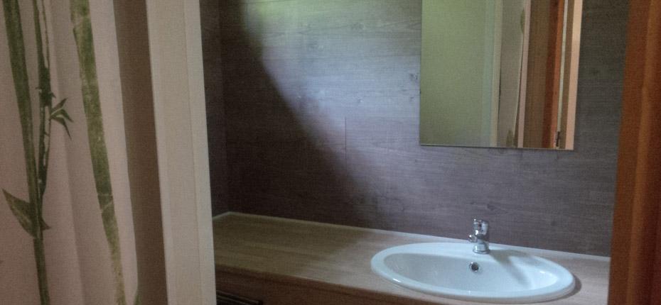 Salle de bain du chalet