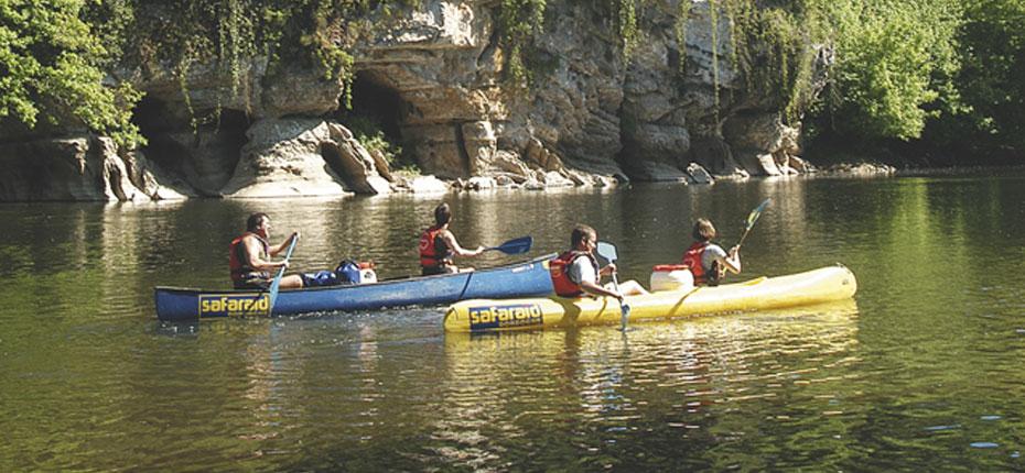 En Dordogne, faites du canoë kayak dans le Lot
