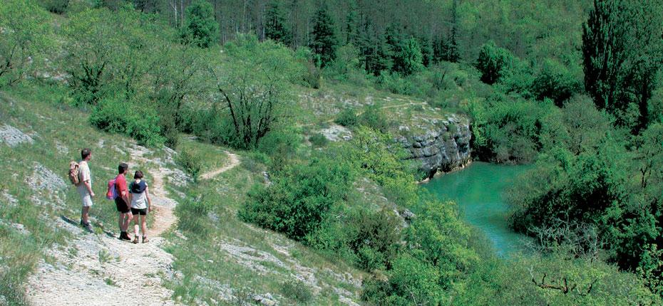 Les randonnée pédestres en Dordogne dans le Lot