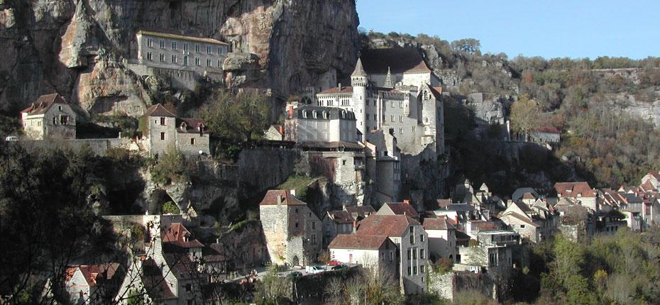 Visitez la cité de Rocamadour dans le Lot à 27 kms