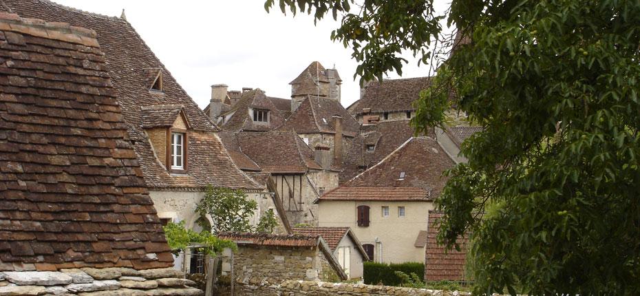 Le Lot et ses petits villages aux vieilles pierres